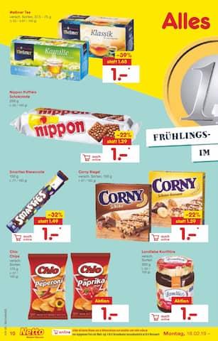 Aktueller Netto Marken-Discount Prospekt, WINTERBLUES ADÉ, Seite 10