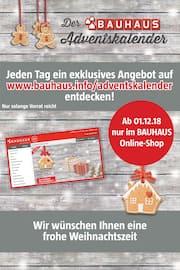 BAUHAUS, BAUHAUS Adventskalender für Bremen