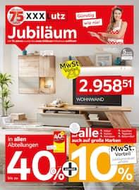 Aktueller XXXLutz Möbelhäuser Prospekt, Jubiläum, Seite 1