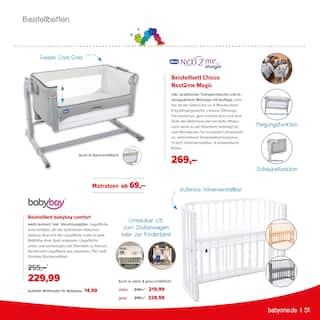 Aktueller BabyOne Prospekt, Möbel zum Wohlfühlen, Seite 51