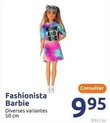 Fashionista Barbie à Action dans Morières-lès-Avignon