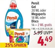 Waschmittel von Persil im aktuellen Rossmann Prospekt für 4.49€