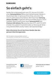 Aktueller Samsung Prospekt, Der Jubiläums-Deal, Seite 8