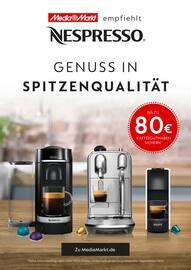 Aktueller Nespresso Prospekt, Genuss in Spitzenqualität, Seite 1