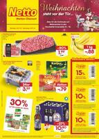 Aktueller Netto Marken-Discount Prospekt, Weihnachten steht vor der Tür ..., Seite 1