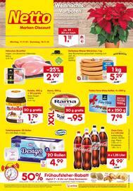 Aktueller Netto Marken-Discount Prospekt, Weihnachts-Vorboten, Seite 1