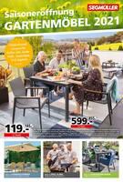 Aktueller Segmüller Prospekt, Saisoneröffnung: Gartenmöbel 2021, Seite 1