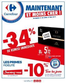 Catalogue Carrefour en cours, Maintenant et moins cher !, Page 1