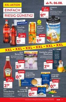 Cola im ALDI Nord Prospekt ALDI. Jeden Tag besonders - einfach ALDI. auf S. 28