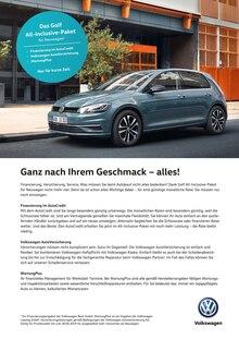 Volkswagen - Ganz nach Ihrem Geschmack - alles!