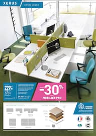 Catalogue Top Office en cours, Le mois du mobilier, Page 15