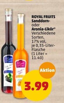 Alkoholische Getraenke von ROYAL FRUITS im aktuellen Penny-Markt Prospekt für 3.99€