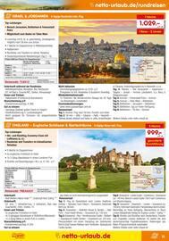 Aktueller Netto Marken-Discount Prospekt, Reisen … zu Netto-Preisen!, Seite 13