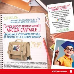 Catalogue Office DEPOT en cours, Les agendas ! Office Depot, l'expert de la rentrée ! Et profitez du service de préparation de liste scolaire en magasin gratuitement., Page 3