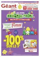 Catalogue Géant Casino en cours, Les jours méga mix, Page 1