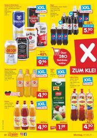 Aktueller Netto Marken-Discount Prospekt, DER ORT, AN DEM MEHRMALS TÄGLICH FRISCH GEBACKEN WIRD., Seite 22