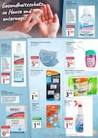 Aktueller Globus Prospekt, Gesundheitsschutz zu Hause und unterwegs!, Seite 1