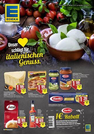 Aktueller EDEKA Prospekt, Unser Herz schlägt für italienischen Genuss., Seite 1