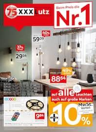 Aktueller XXXLutz Möbelhäuser Prospekt, Beim Preis die Nr.1, Seite 1