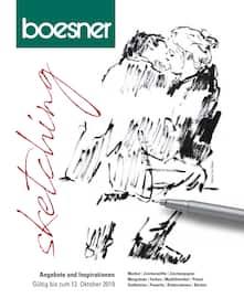 Aktueller boesner Prospekt, Sketching, Seite 1