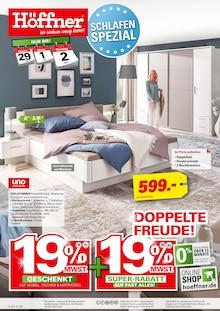 Höffner - Schlafen Spezial