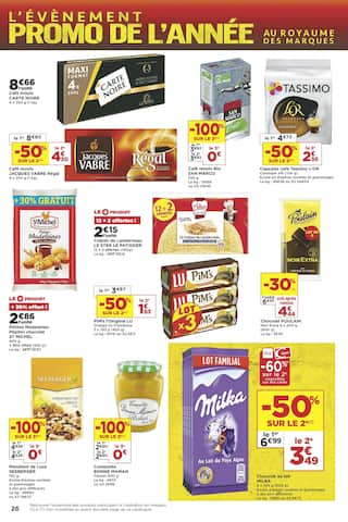 Catalogue Casino Supermarchés en cours, L'évènement promo de l'année - Épisode 3, Page 26
