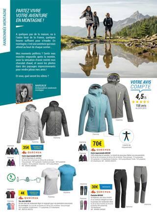 Catalogue Decathlon en cours, Il est temps de prendre l'air !, Page 10