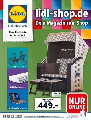 Aktueller Lidl Prospekt, Dein Magazin zum Shop, Seite 1