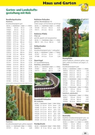 Aktueller Holz Possling Prospekt, Holz- & Baukatalog, Seite 85