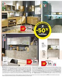 Catalogue Conforama en cours, Offre évènement ! Jusqu'à -50% sur les cuisines, Page 6