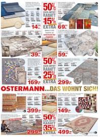 Aktueller Ostermann Prospekt, OSTERMANN …DAS WOHNT SICH!, Seite 7