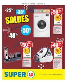 Catalogue Super U en cours, Soldes, Page 1
