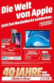 Aktueller MediaMarkt Prospekt, Die Welt von Apple jetzt bei MediaMarkt entdecken!, Seite 1