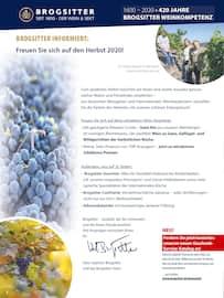 Aktueller Brogsitter Vinothek Grafschaft Prospekt, Geniessen Sie die Farben des Herbstes mit unseren schönen Weinen!, Seite 2