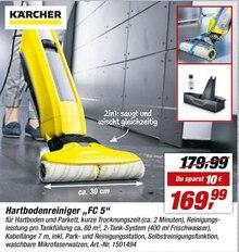 Elektronik von Kärcher im aktuellen toom Baumarkt Prospekt für 169.99€