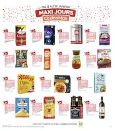 Catalogue Géant Casino en cours, Les 366 jours les + promo de France, Page 13