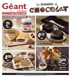 Catalogue Géant Casino en cours, Les semaines du chocolat, Page 12