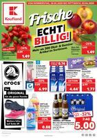 Aktueller Kaufland Prospekt, Frische ECHT BILLIG!, Seite 1