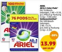 Waschmittel von ARIEL im aktuellen Penny-Markt Prospekt für 13.99€
