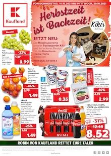 Kaufland Prospekt für Bad Berleburg: JETZT WIRD GESPART!, 40 Seiten, 13.10.2021 - 20.10.2021