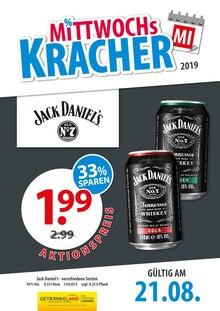Getränkeland - Mittwochs-Kracher