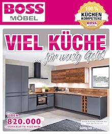 SB Möbel Boss Prospekt für Oppin b Halle, Saale: VIEL KÜCHE… für wenig Geld!, 52 Seiten, 5.9.2021 - 31.12.2021