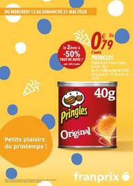 Catalogue Franprix en cours, Petits plaisirs du printemps !, Page 1