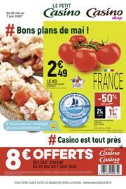Catalogue Petit Casino en cours, # Bons plans de mai !, Page 1