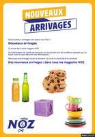 Catalogue NOZ en cours, Nouveaux arrivages, Page 1