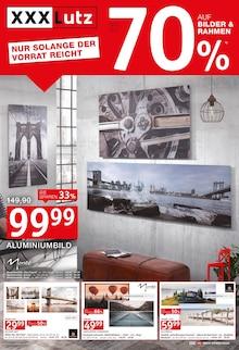 XXXLutz Möbelhäuser, BIS ZU 70% AUF BILDER & RAHMEN für Nürnberg