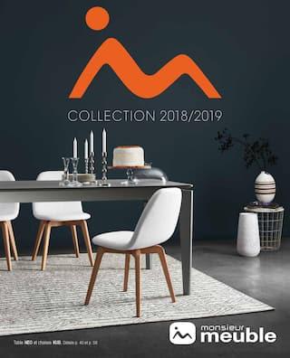 Catalogue Monsieur Meuble en cours, Collection 2018/2019, Page 1