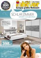 Aktueller Möbel Inhofer Prospekt, SCHLAFZIMMER attraktiv und gemütlich, Seite 1