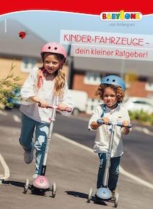 BabyOne - Kinder-Fahrzeuge - dein kleiner Ratgeber!