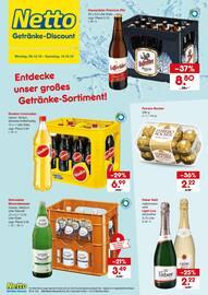 Aktueller Netto Getränke-Markt Prospekt, Entdecken Sie unsere große Getränke-Vielfalt!, Seite 1